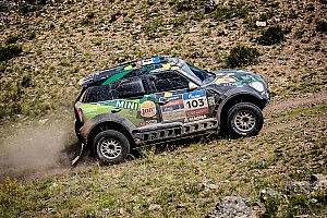 Cross-Country Rally Stage report Silk Way Rally 2016 - First stage win for the MINI ALL4 Racing