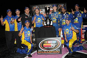 NASCAR Sprint Cup Breaking news At just 16, Todd Gilliland wins his first NASCAR championship