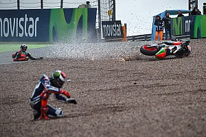 MotoGP Analysis MotoGP season witnesses 1000 crashes for the first time