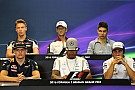 Formula 1 Belgian GP: Thursday's press conference