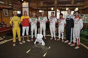 WTCC 速報ニュース WTCCドライバーが土俵入り。日本ラウンドへの意気込みを語る