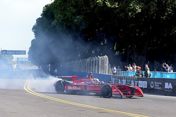 Formula E Breaking news D'Ambrosio rues points
