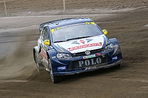World Rallycross Leg report Sweden WRX: Kristoffersson ends Day 1 on top