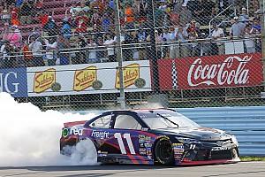 NASCAR Sprint Cup Race report Hamlin survives carnage to win at Watkins Glen