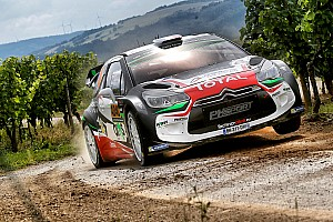 WRC Breaking news Lefebvre and Moreau suffer fractures in Rally Germany crash