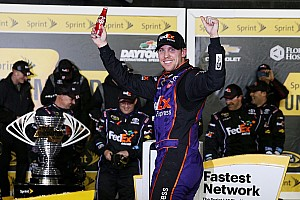 NASCAR Sprint Cup Race report Hamlin gives Joe Gibbs Racing fourth Unlimited win in five years