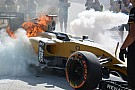 Formula 1 Renault suspects fuel breather issue caused Magnussen fire