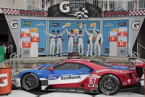 IMSA Race report Ford GTs finish 1-2 at Watkins Glen