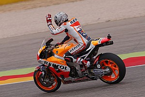 MotoGP Qualifying report Aragon MotoGP: Marquez slays opposition for sixth 2016 pole