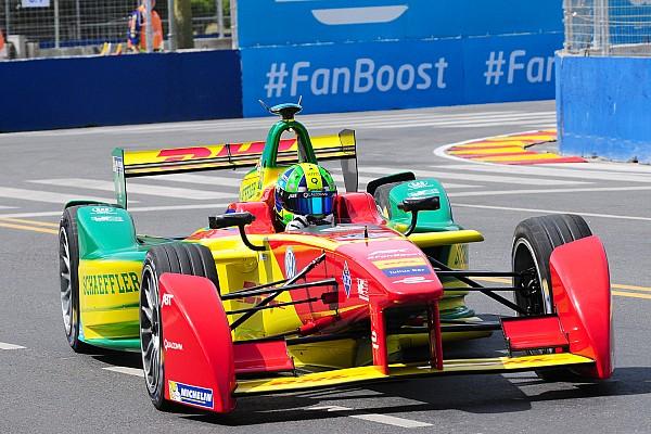 Formula E Lucas di Grassi wins another Formula E trophy