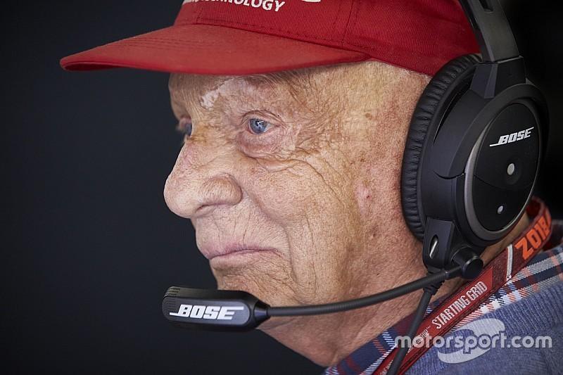 Nuevo parte médico de la salud de Niki Lauda