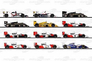 Rediscover the cars of Ayrton Senna's F1 career