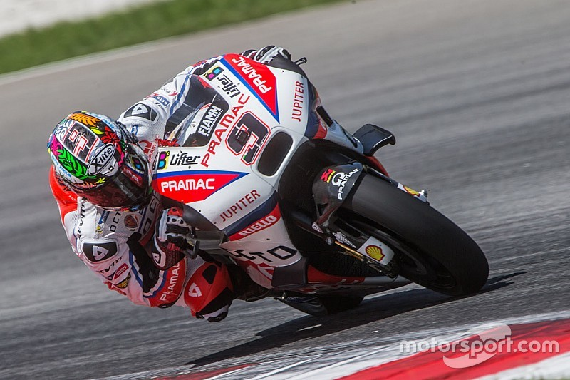 Petrucci leads second day of Sepang MotoGP test amid tyre drama