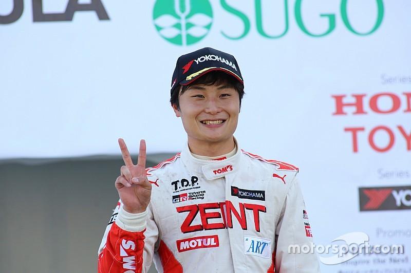 全日本F3チャンピオンの山下健太「最終戦のスタート前は特に緊張した」