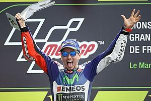 MotoGP Race report Le Mans MotoGP: Lorenzo dominates crash-filled French GP