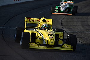 Pro Mazda Race report O'Ward holds off strong challenge for victory