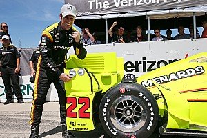 IndyCar Qualifying report Pagenaud on pole as Chevrolet dominates at Iowa