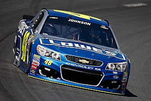 NASCAR Sprint Cup Breaking news Jimmie Johnson ecstatic to be back on top