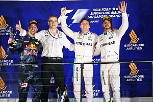 Formula 1 Race report Singapore GP: Rosberg triumphs against late Ricciardo charge