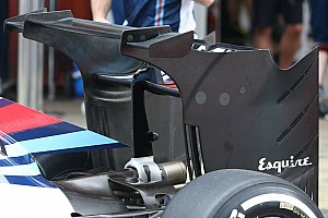 Formula 1 Breaking news Williams test radical new rear wing