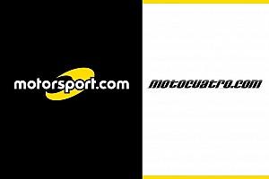Motorsport.com İspanya'nın lider motorsporları sitesi Motocuatro.com'u bünyesine katıyor