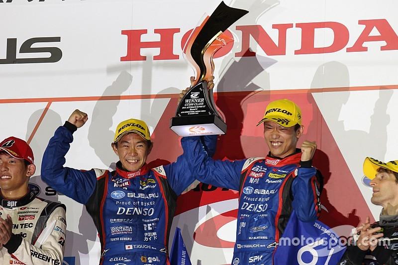 スーパーGT第6戦鈴鹿1000km決勝(GT300):SUBARU BRZが今季初優勝。プリウスが2位