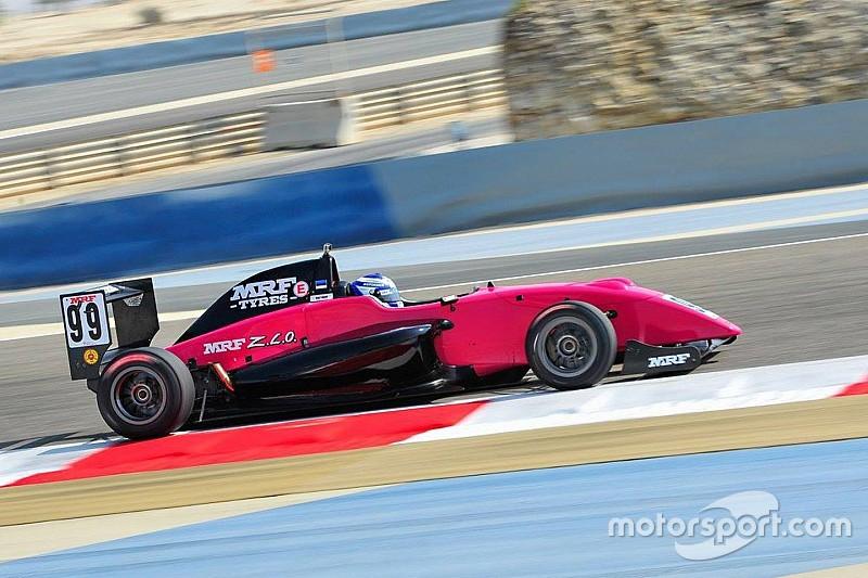 Bahrain MRF Challenge: Aron beats Mawson and Schumacher to maiden win