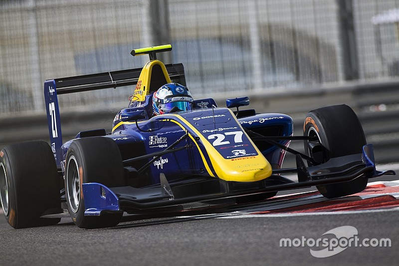 Abu Dhabi GP3: Hughes controls final race of the season