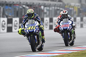 MotoGP Breaking news Rossi shifts focus to beating Lorenzo to second