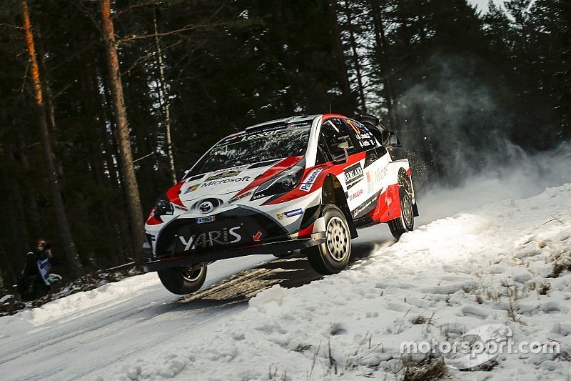 Sweden WRC: Latvala leads after topping Thursday superspecial