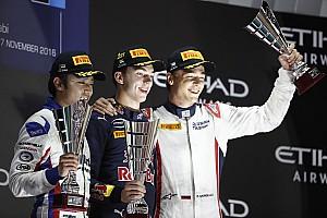 GP2 Race report Abu Dhabi GP2: Gasly overhauls Giovinazzi with Saturday win