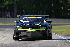 PWC Race report Aschenbach wins Mid-Ohio GTS bout after chaotic start