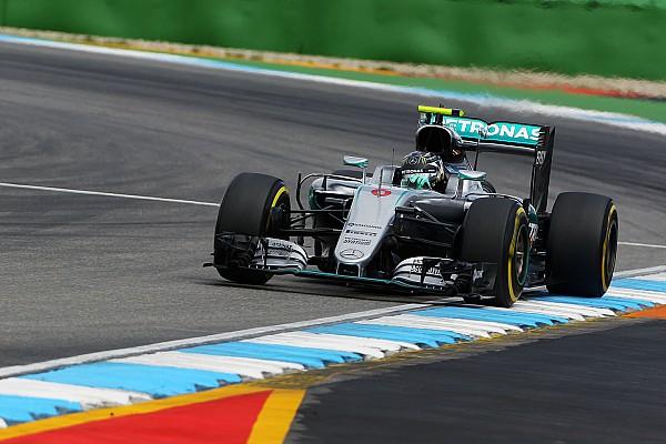 Formula 1 German GP: Rosberg completes practice clean sweep