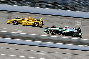 "IndyCar Breaking news Karam: ""I was worried the racing would be ruined"""