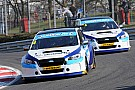 BTCC Croft BTCC: Turkington leads Subaru 1-2 in incident-packed Race 1