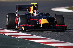GP2 Testing report Gasly dethrones Sirotkin on Day 2 in Barcelona