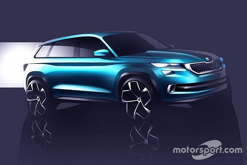 Skoda VisionS: strak voorproefje van de nieuwe SUV van Skoda