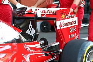 Formula 1 Analysis Bite-size tech: Ferrari rear wing change for qualifying
