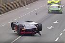 GT GT-Weltcup in Macau: Abbruch nach heftigem Unfall von Laurens Vanthoor