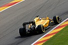 Formula 1 Magnussen suffered cut ankle in Belgian GP crash