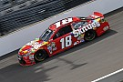 NASCAR Sprint Cup Kyle Busch leads final practice at Indianapolis