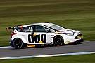 BTCC Donington BTCC: Jackson cruises to victory as Subaru catches fire