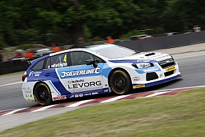 BTCC Race report Snetterton BTCC: Turkington wins Race 1 despite jump start