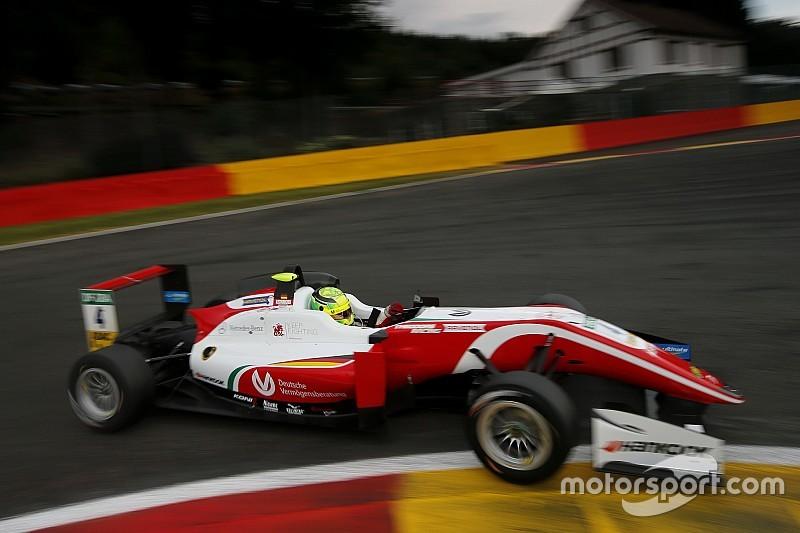 Mick Schumacher trionfa nella Formula3 a Spa