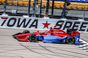 IndyCar Breaking news Aleshin pleased with best oval result at Iowa