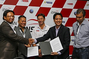 Asian Le Mans Breaking news Malaysian academia and industry join forces to develop hybrid technology using a LMP3 car