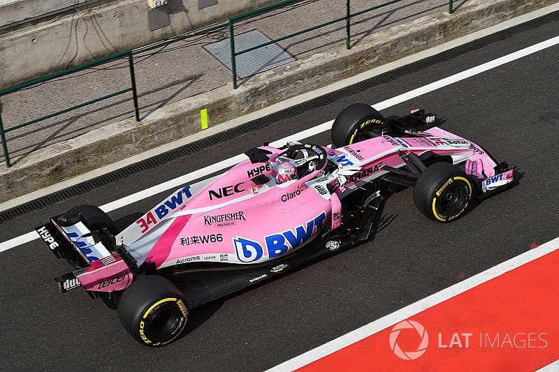 Racing Point Force India rejoint le championnat 2018 de F1