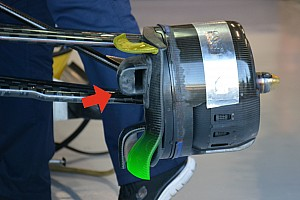 Formula 1 Analysis Bite-size tech: Sauber front brake duct and floor