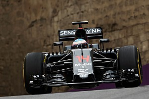 Formula 1 Practice report A busy first day of practice for McLaren in Azerbaijan