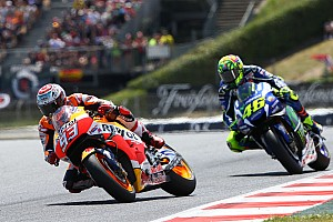 MotoGP Breaking news Marquez says Rossi stronger now than in 2015